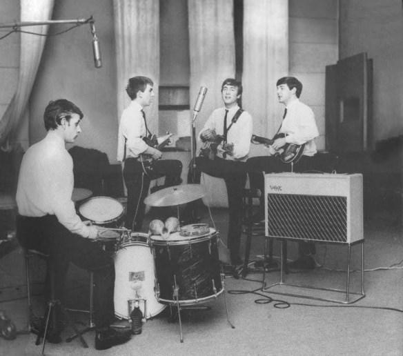 primeira apresentação de Ringo com os Beatles – fotos de Dezo Hoffmann 3