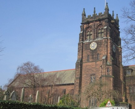 St. Peter's Church in Liverpool. Google
