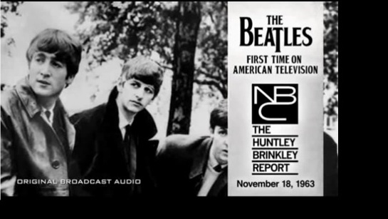 The Beatles first time in american television