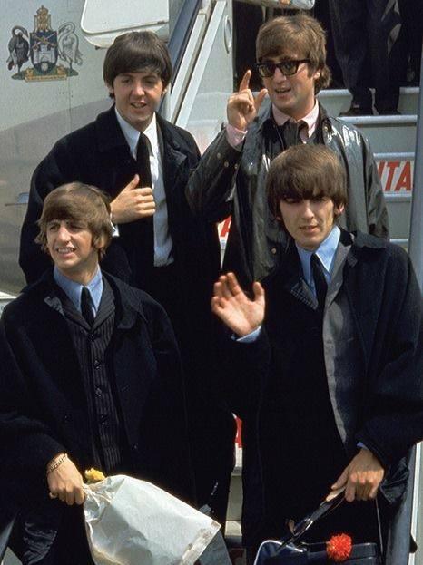 1964 - desenbarcando em Melbourne, Australia