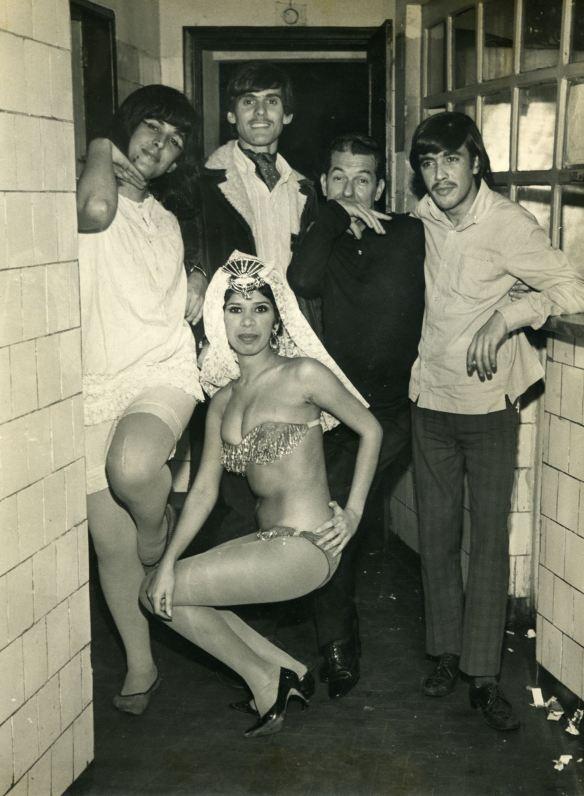 1967 - Os Corsos na boite LA VIE EN ROSE