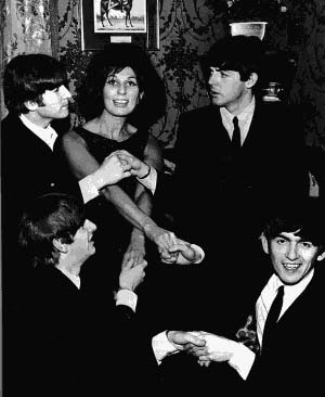 Alma Cogan e os Beatles