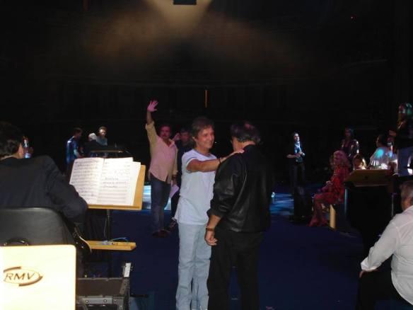 Com Roberto Carlos em show no México