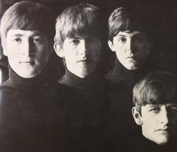 Capa do LP dos Beatles de 1963