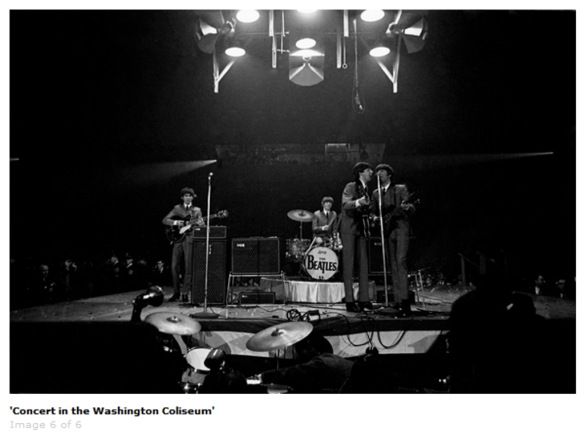 The Beatles - Washington Coliseum 1