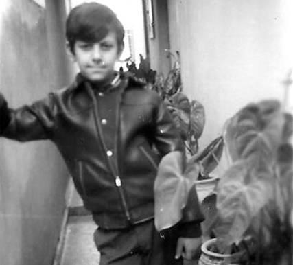 Beto Iannicelli em fevereiro de 1964
