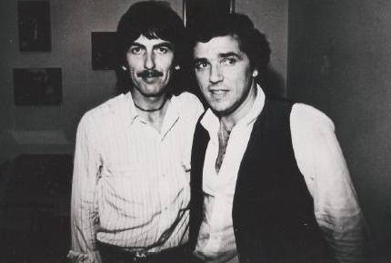 George Harrison e Jerry Adriani