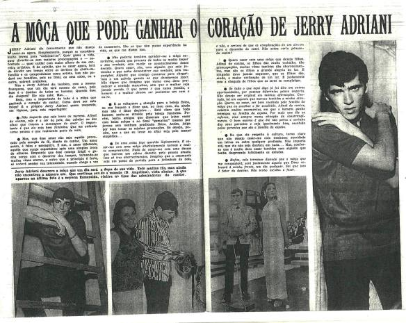 Página da Revista do Rádio de 1965