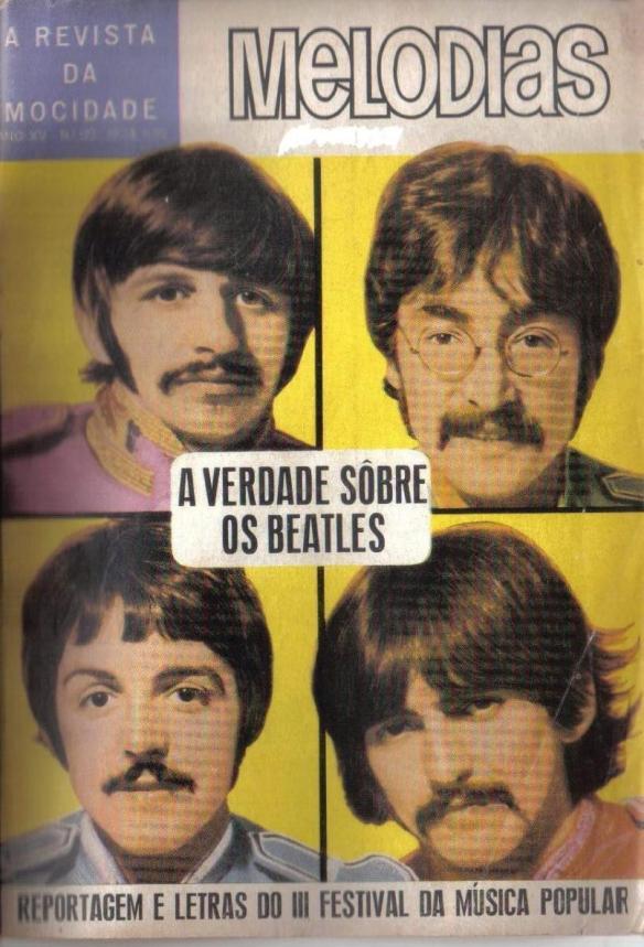 revista melodias 122 a verdade sobre os beatles