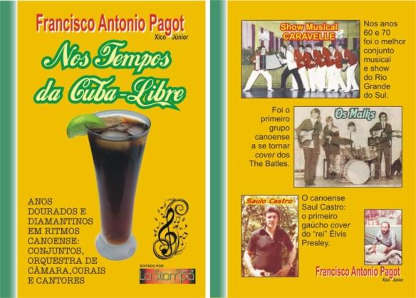 Capa e contra-capa No Tempo da Cuba-Libre