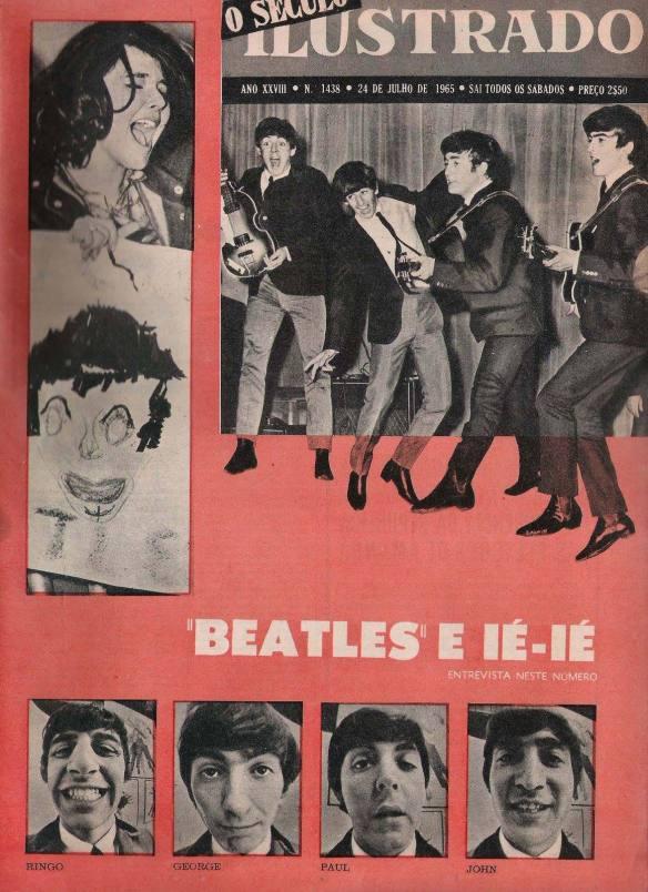 Livro dos Beatles  em Portugal 1