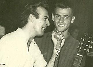 Aguillar e Ronnie Cord em 1961