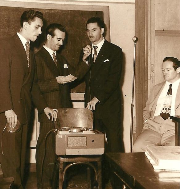 Carlos Lombardi, Aguillar e  Jacob Rosemblat