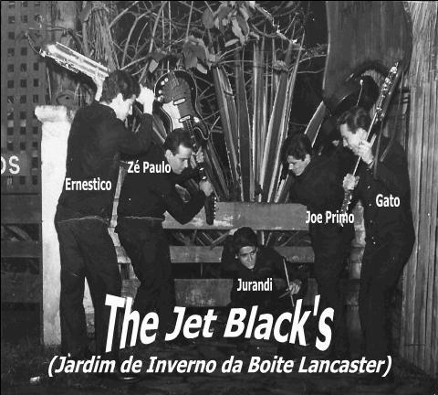 The Jet Blacks no Jardim de Inverno da antiga Boite Lancaster em São Paulo