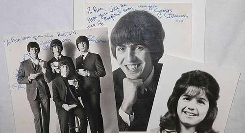 George Harrison falsificou autógrafos