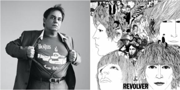 """""""Beatles, indiscutivelmente. Tem um que revolucionou. Tem quem fale em Sgt. Peppers, eu acho que não. O processo revolucionário começou antes. O Rubber Soul já tinha uma pegada, mas Revolver mudou mesmo. Para mim, esse é o disco revolucionário dos Beatles. Desde o primeiro disco deles começou a mudar o meu jeito de ouvir música. Rubber Soul começou a virar minha cabeça para 180 graus e o Revolver para mais 360º [risos]."""""""