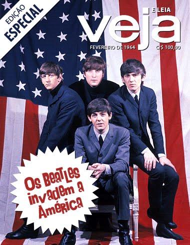 Veja - Os Beatles invadem a América