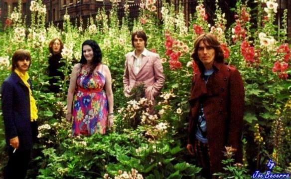 Kinfauns na casa de Harrison com os Beatles
