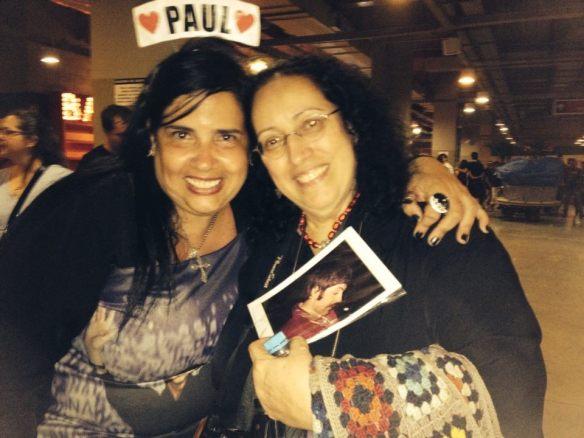 Cláudia Tapety e Lizzie Bravo