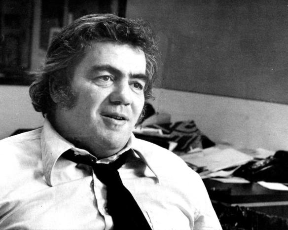 Columnist Jimmy Breslin