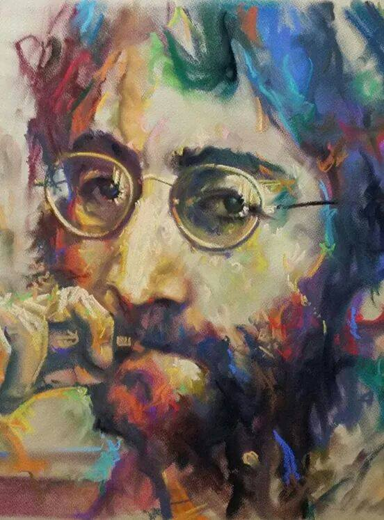 John Lennon - tela