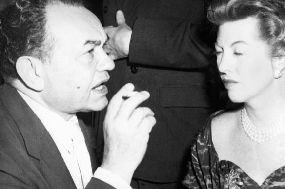 Marjorie Prado e Edward G. Robson