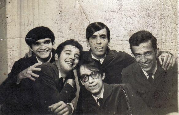 Da esquerda para a direita: Raimundo Carrero, Djilson Beirão, Walter Neves, José Araújo (de óculos) e Fred Monteiro.