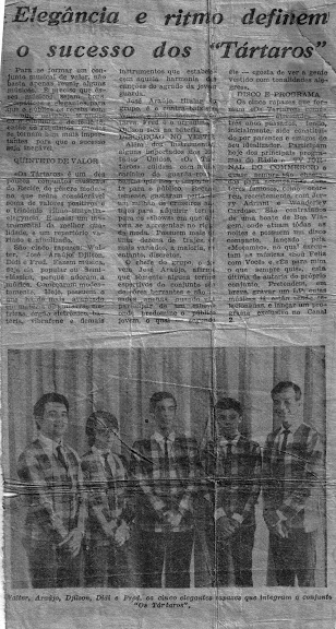 Os tártaros - foto de jornal 2