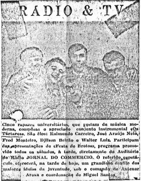 Os tártaros - foto de jornal 3