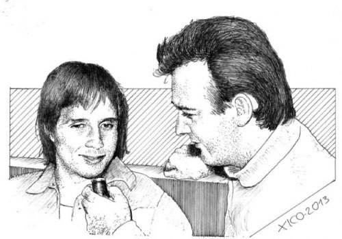 Roberto Carlos e Antonio Aguillar