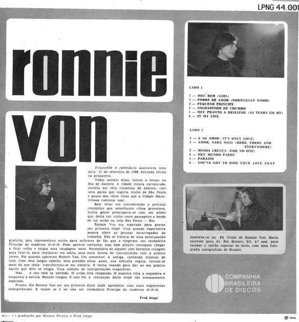 Álbum 15 Ronnie Von 2