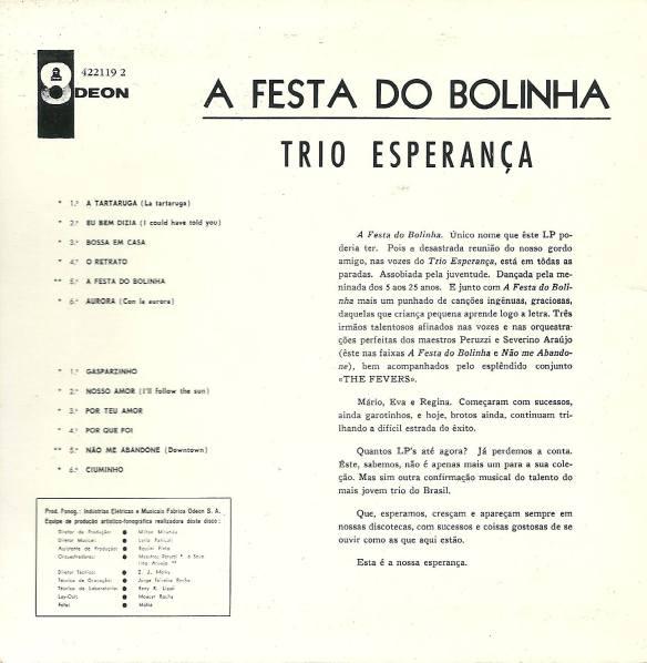 Álbum 36 Trio Esperança 2