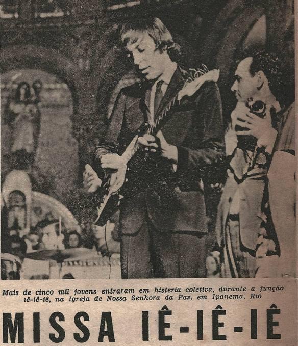 Pequena matéria dos Brazilian Bitles publicada em 1966 na Revista Clube Tv-Rádio do Rio de Janeiro. 5