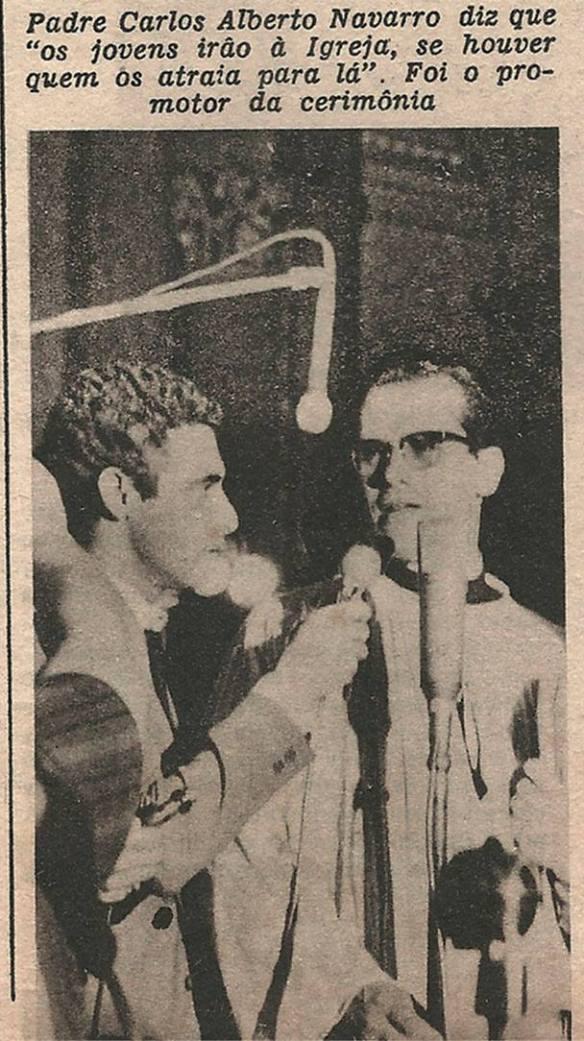 Pequena matéria dos Brazilian Bitles publicada em 1966 na Revista Clube Tv-Rádio do Rio de Janeiro. 6