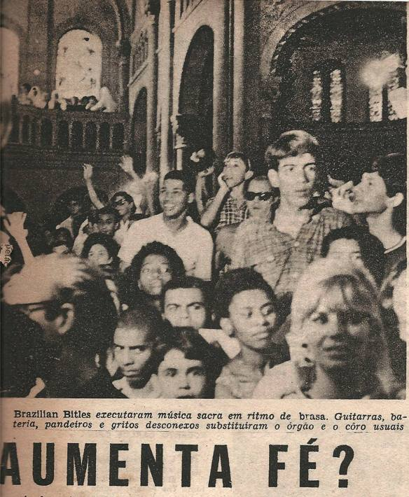 Pequena matéria dos Brazilian Bitles publicada em 1966 na Revista Clube Tv-Rádio do Rio de Janeiro. 7