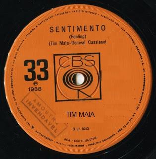 Tim Maia 1968 - Sentimento - compacto