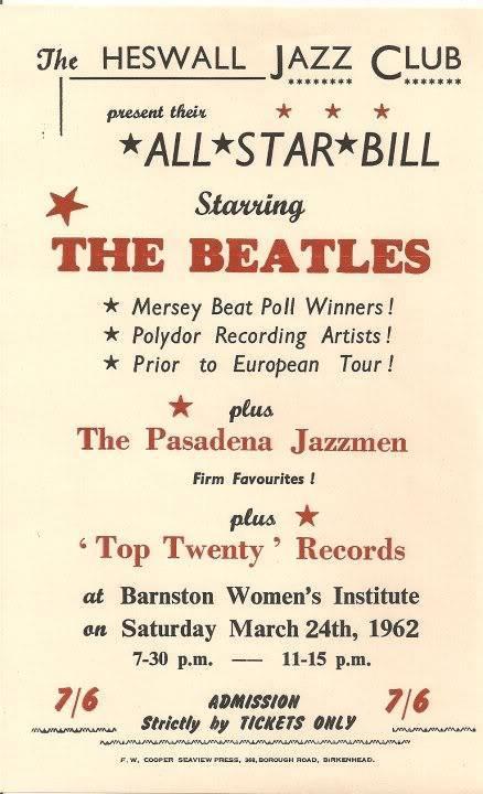 The Beatles 24 de março 1962 2