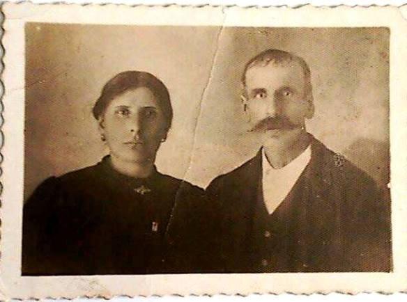 Pietro Zanet e Domenica Antonialli, meus bisavós paternos, pais de Felice Zanet.