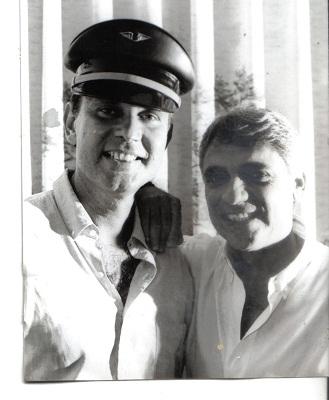 Paulo e João José na Gravadora Hawai