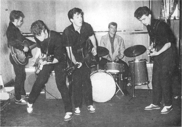 Primeira foto usando Beatles no nome.