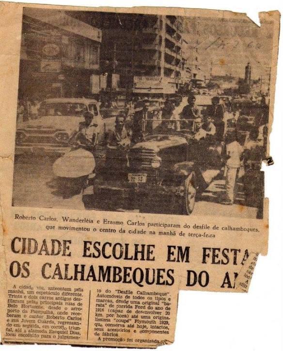 Recorte de Jornal com a notícia - Acervo Daisymar Tocafundo