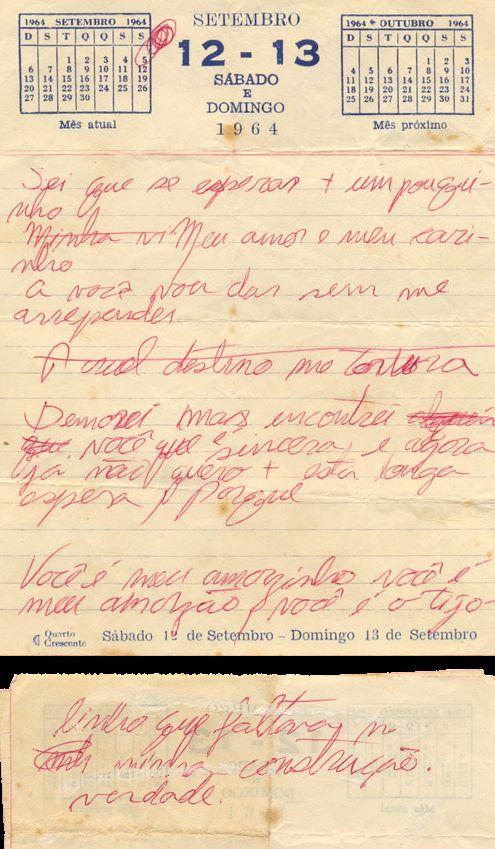 Letra original - O Tijolinho, de Wagner T. Benatti