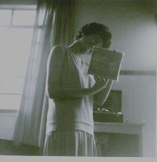 Em 26/09/1965, recebendo meu presente de aniversário: RC Canta para a Juventude