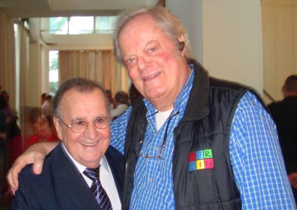 Antonio Aguillar e George Freedman em 22/08/2015