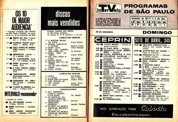 24 - Parada de Discos - Programação da TV