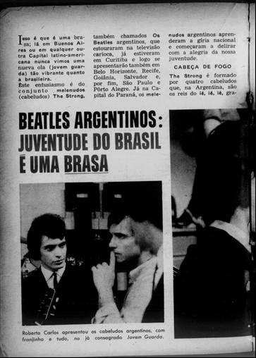 Beatles Argentinos - juventude no brasil é uma brasa