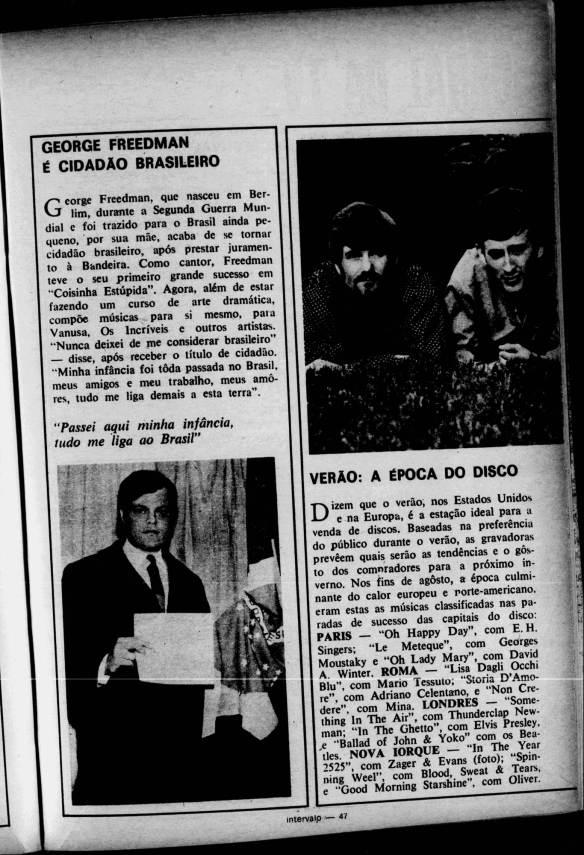 Freedman cidadão brasileiro
