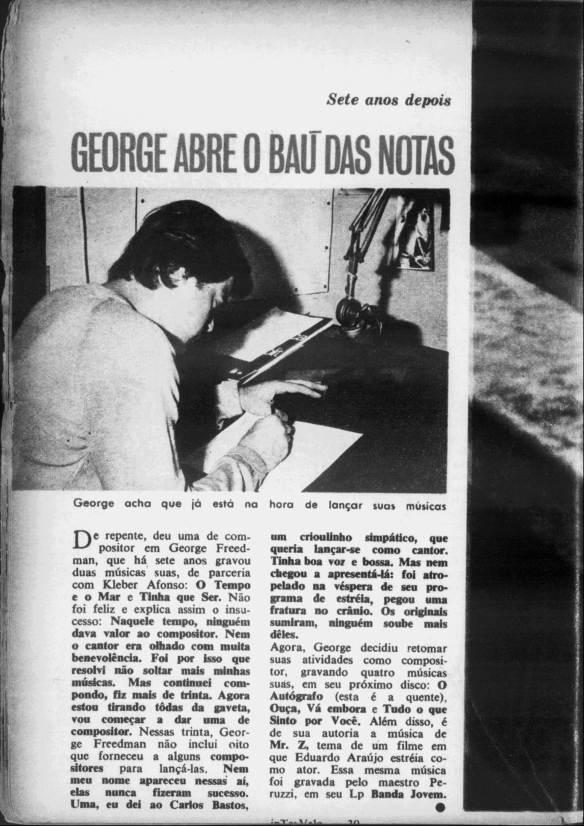 George compõe