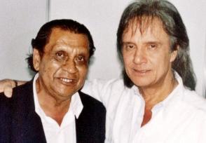 Geraldo Alves e Roberto Carlos em 2004
