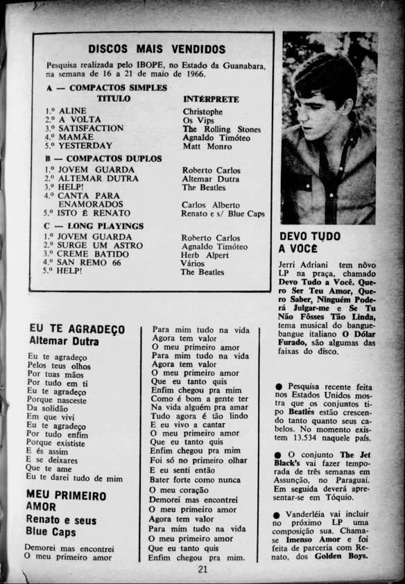 Jerry Adriani - discos mais vendidos